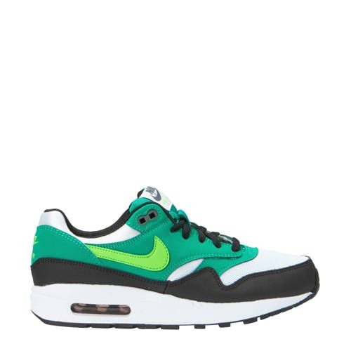 nike air max groen wit