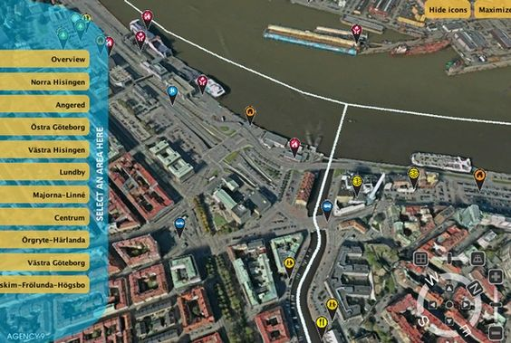 The city of Gothenburg, Sweden, has taken a novel approach to getting locals involved in the planning process. Instead of relying only on public meetings and design charrettes, the city has developed an interactive and photorealistic 3D map that residents can use to drop in suggestions and ideas for improving their city.