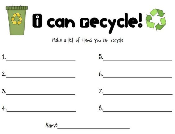 Printables Reduce Reuse Recycle Worksheets recycle worksheet davezan pinterest the world 39 s catalog of ideas reduce reuse worksheet