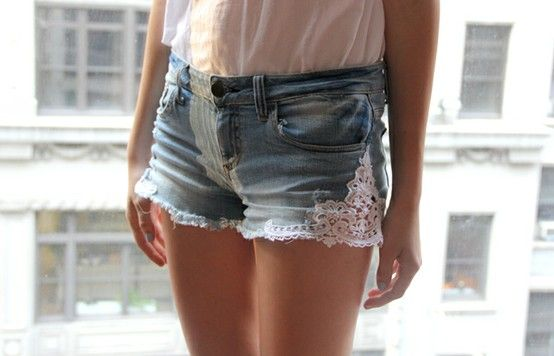 D.I.Y. short jean.....It's very simple.