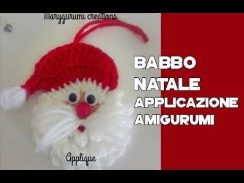 Babbo Natale fatto a mano, babbo Natale ad uncinetto, Addobbi ... | 360x480