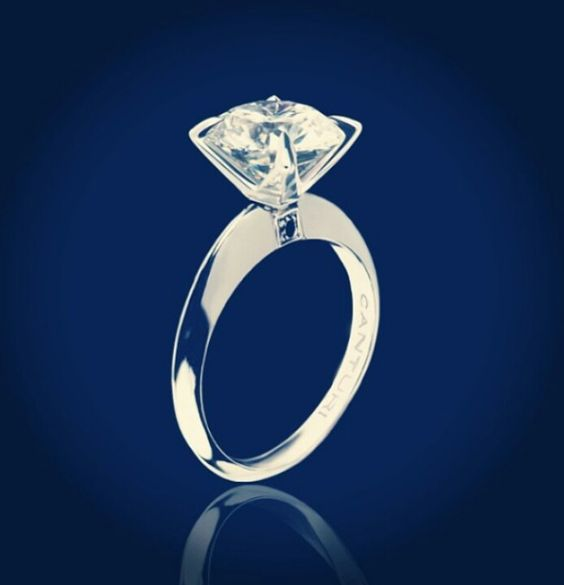 My engagement ring <3 can't wait to have a wedding band to match.