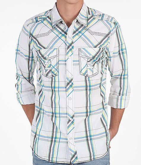 I'm a sucker for anything woven and with a hint of plaid. Love the BKE Woden Shirt