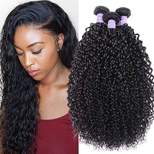 Buy Jolia 8a Human Curly Hair Bundles 14 16 18 Inch Double Stitched Weft Shedding Unprocessed Brazilian Weave Hairstyles Hair Bundles Curly Weave Hairstyles