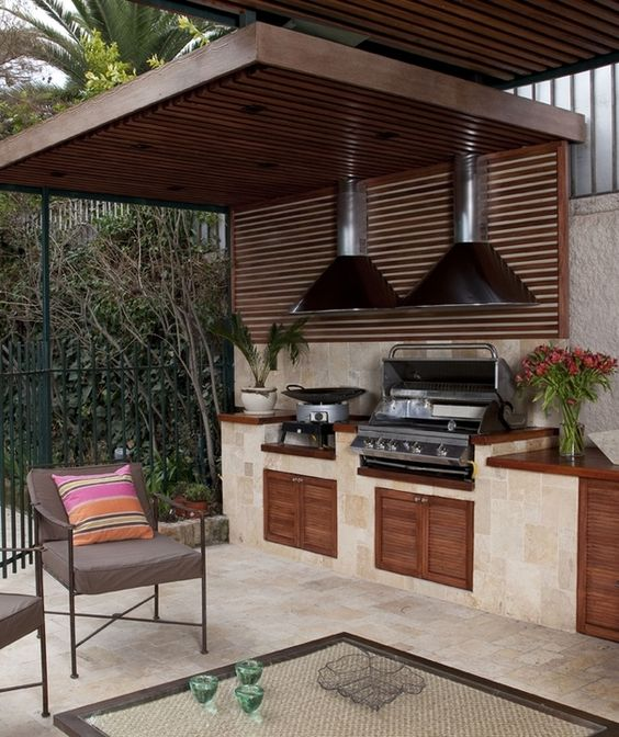 Parrillas empotrables bbq grill de top kitchen parrillas - Parrillas de lena ...