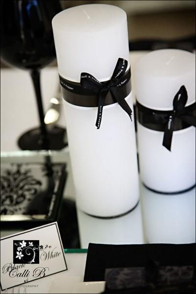 Decoraci n de bodas en blanco y negro party ideas - Decoracion en blanco y negro ...