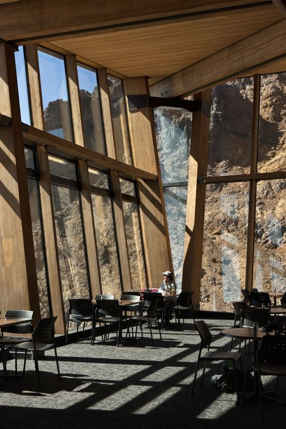 Knoll Ridge Cafe / Harris Butt Architecture