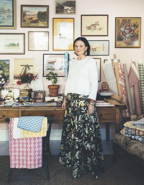 Anna Spiro, interior designer.