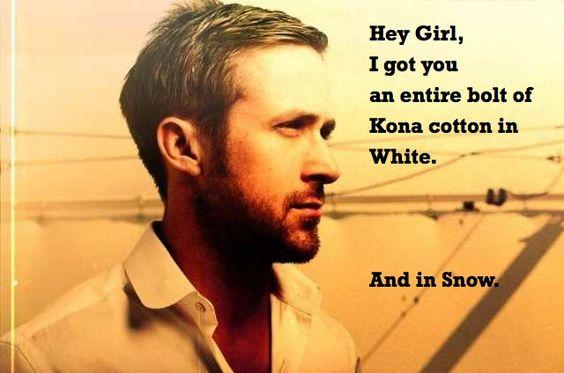 "Ryan Gosling ""Hey Girl..."" Meme for Quilters!"