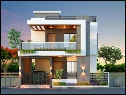 Super Small House Design Exterior Indian 37 Ideas In 2020 Small House Design Exterior House Floor Design Duplex House Design
