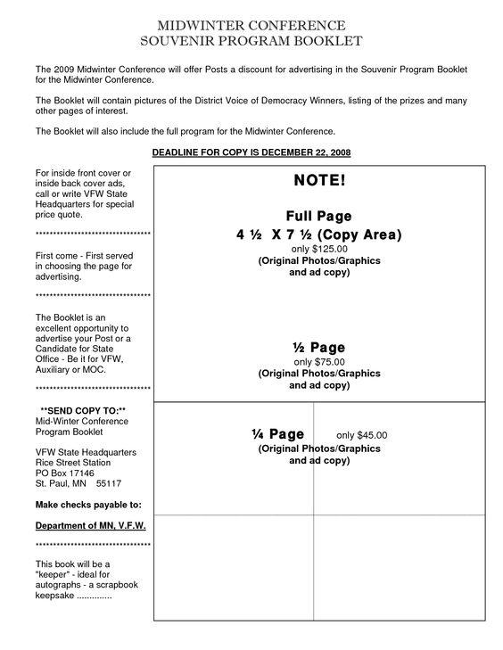 ad book template - Etame.mibawa.co