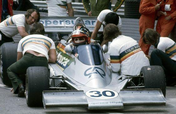 Ford-Cosworth DFV 3.0 V8 1976 Emerson Fittipaldi (1976)