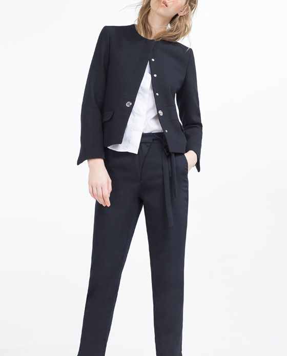 Image  Of Flowing Trousers From Zara  Shoes Bags Clothes