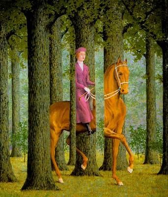 Magritte, Rene (1898-1967) - 1965 Le Blanc-Seing: