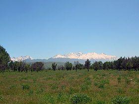 Киргизский Ала-Тоо - Киргизский хребет — один из горных хребтов внутреннего Тянь-Шаня на территории Киргизии,
