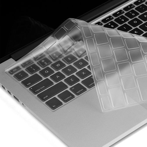 "Sale Clear TPU Keyboard Cover Skin for APPLE Macbook Pro //Retina 13/""15/""  Air 11/"""