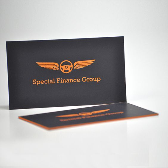 Color Edge Business Card