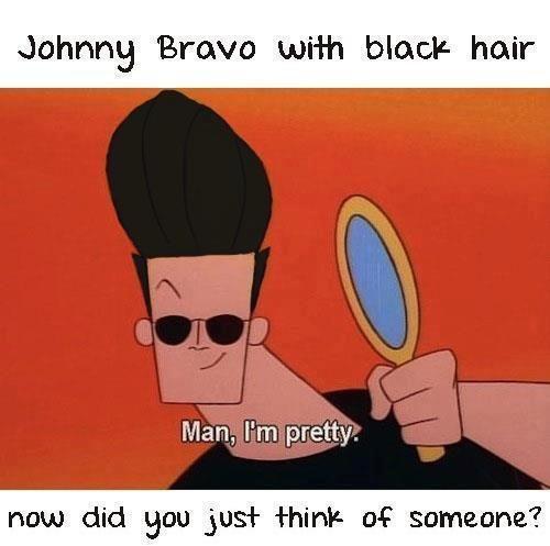 Google Image Result For Https Pbs Twimg Com Media A3wazyncyaecdxc Jpg Large In 2020 Black Hair Johnny Bravo Mens Hairstyles