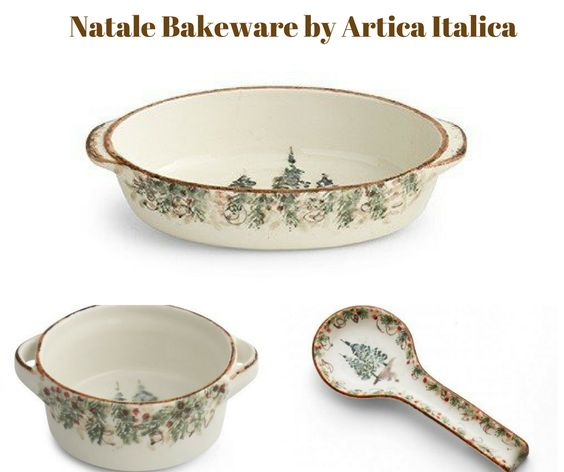 Natale Bakeware by Arte Italica