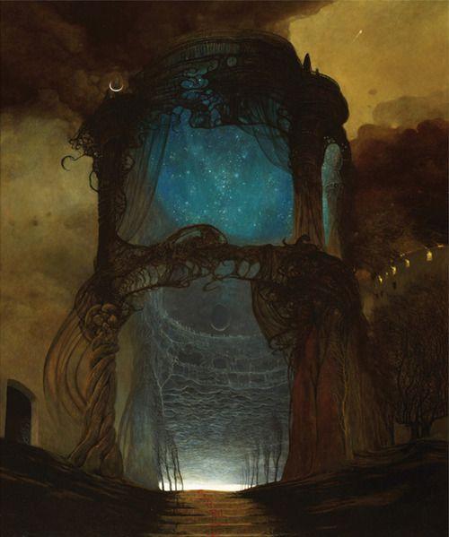 Strange Portal...Zdzisław Beksiński