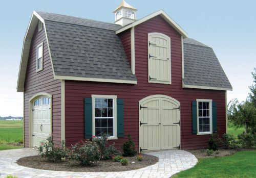 16x24 Garage Barn : Dutch barns and cottages on pinterest