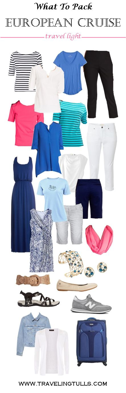 Packing For A Mediterranean Cruise  Free Packing List  Sharing  Pinterest