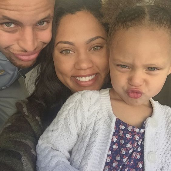 """Stephen Curry's Wife Speaks On Riley's Press Conference Turn-Up: """"Let Your Children Be Children"""""""