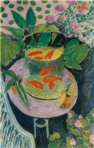 Matisse  Les Poissons rouges. 1911. Huile sur toile. 146X97 cm: