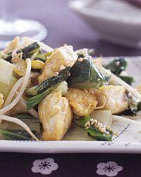 Stir-Fried Tofu with Bok Choy