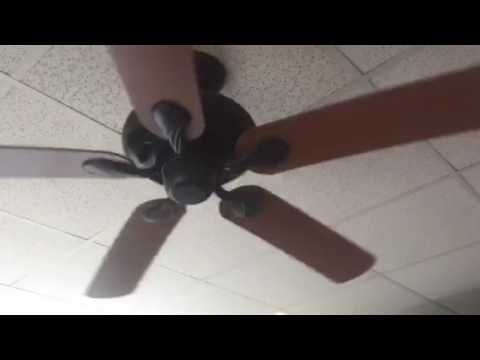 52 Hampton Bay Quick Connect Ceiling Fan Remake Youtube