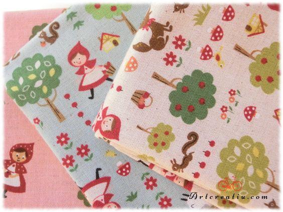 Estas telas Japonesas Kokka no podían faltar en nuestra tienda online http://shop.artcreatiu.com/es/