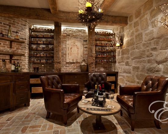 Mediterranean Wine Cellar Design, Pictures, Remodel, Decor and Ideas