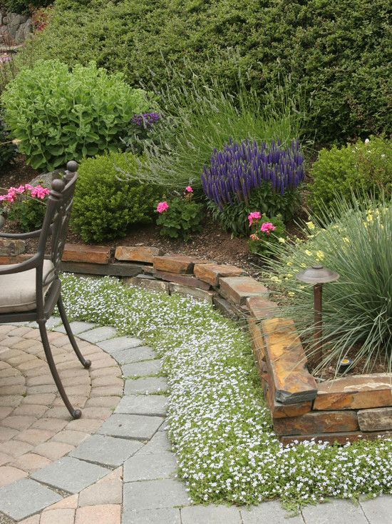 Brick Flower Bed Border Ideas