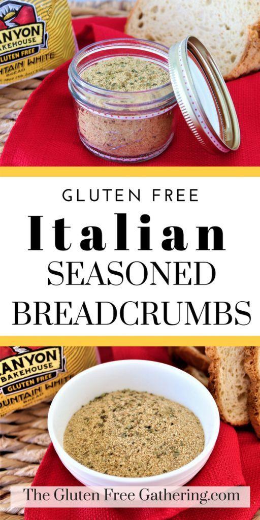 Gluten Free Italian Breadcrumbs The Gluten Free Gathering Gluten Free Italian Italian Breadcrumbs Gluten Free Italian Bread