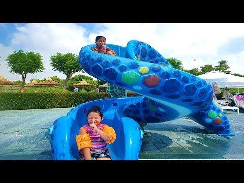 Oyku And Masal Played Hide And Seek Ioiiuuiiii99i89999999997tlt9987n The Pool Fun Aquapark Youtube Cool Pools Pool Fun