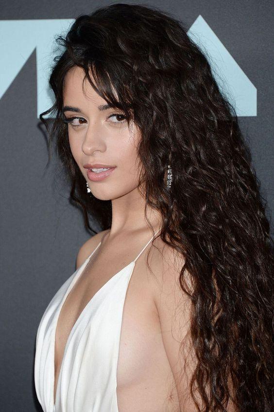Camila Cabello In 2020 Cabello Hair Camila Cabello Curly Hair Styles