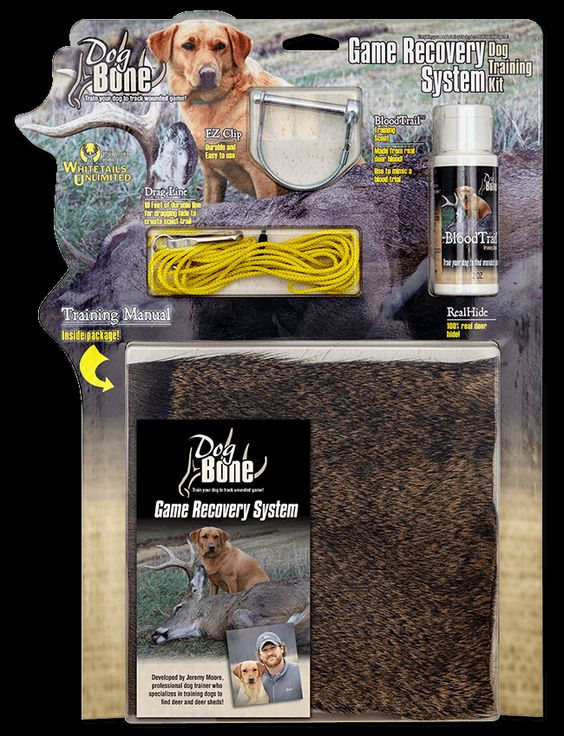 Deer Dog Game Recovery Training System By Dog Bone Hunter Dbgrk