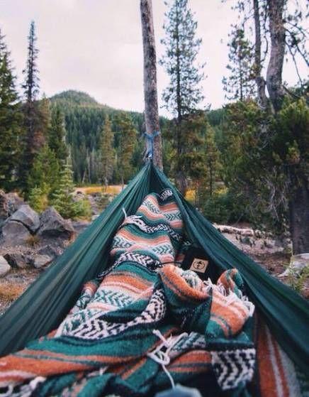 20+ Trendy Camping Aesthetic Hammock #camping