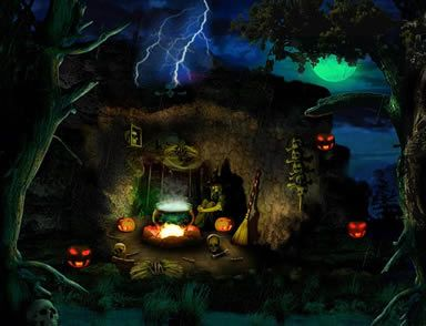 Halloween backgrounds and halloween backgrounds on pinterest - Scary animated backgrounds ...