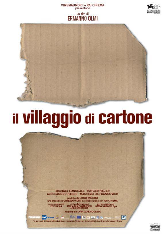 Il villaggio di cartone.