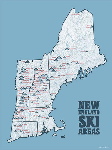 New England Ski Areas Map ~ CUCA-FODIDA