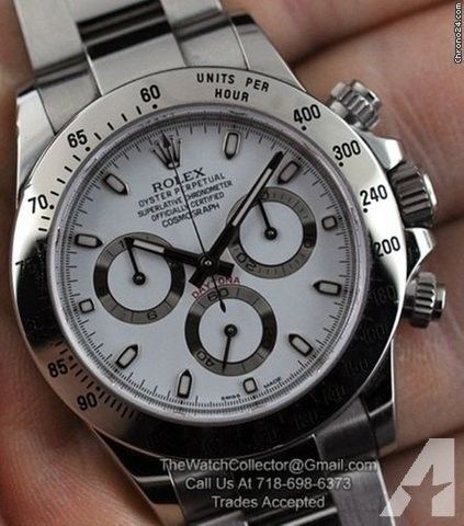 Rolex DAYTONA STEEL 116520 MINT 40MM BLACK DIAL