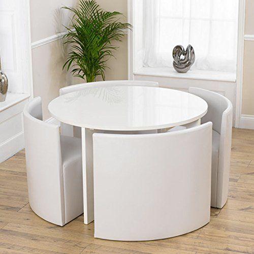 Platzsparender Esstisch Und Stuhle Kuchentisch Und Stuhle
