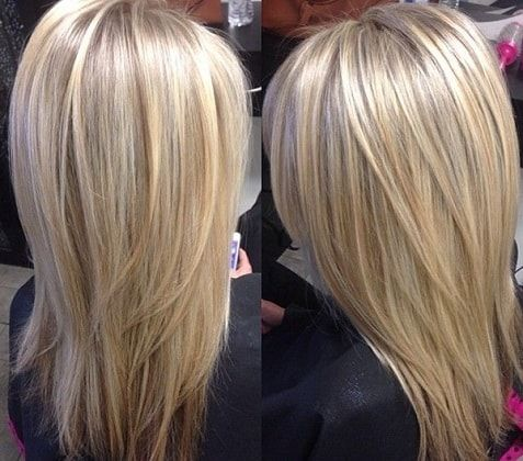 Мелирование на темные волосы средней длины, короткие волосы. Фото ... | 420x477