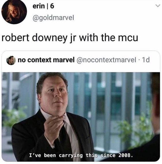 Pin By Madeline On Suit Up Marvel Memes Marvel Cinematic Robert Downey Jr