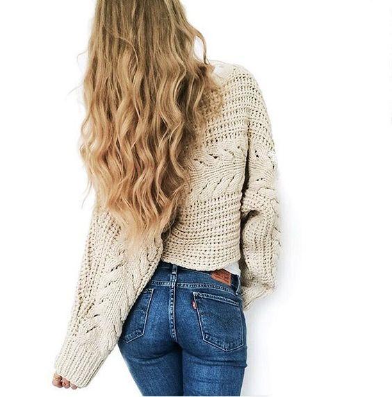 knit + levi's