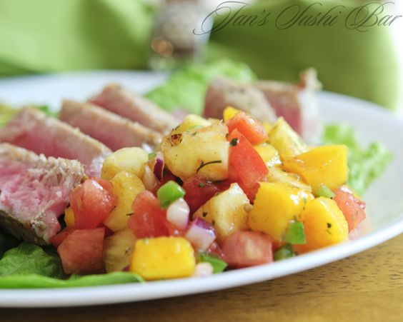 Spicy Tropical Salsa