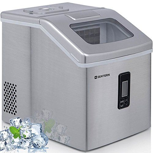 Sentern Portable Electric Clear Ice Maker Machine Stainless