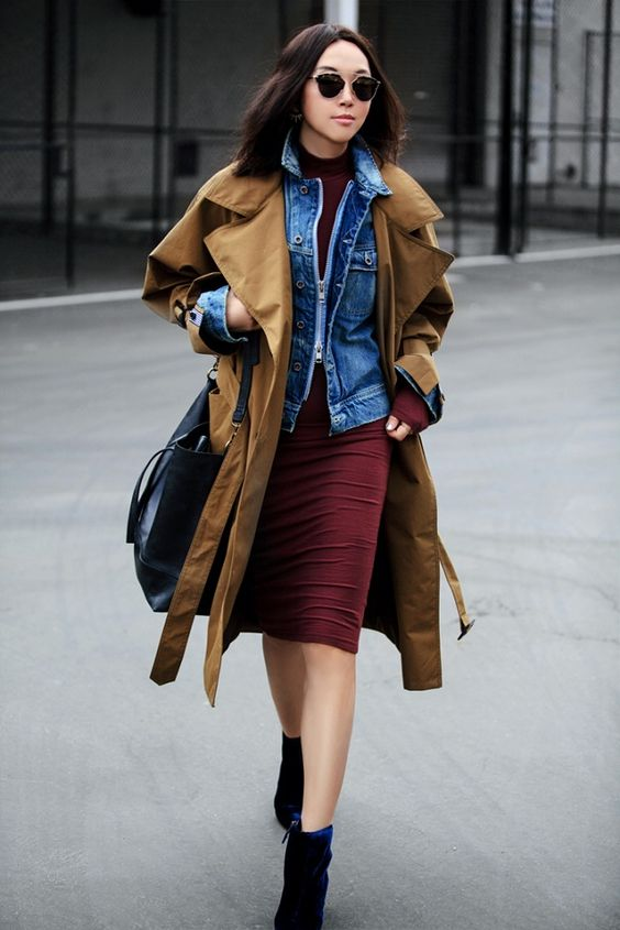 Style Guide: Three Ways To Wear The Classic Trench | Mel Boteri Style Guide | Fit Fab Fun Mom