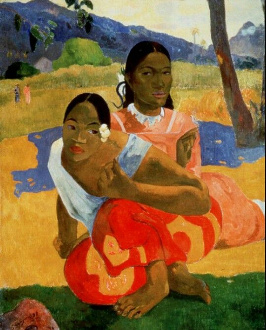 Paul Gauguin - Nafea Faa Ipoipo (When Will You Marry?), 1892
